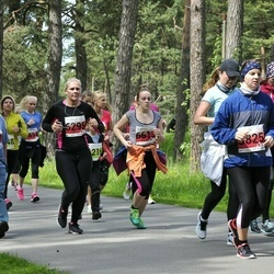 SEB 28. Maijooks - Sirje Haabmets (5111), Triin Sarapuu (5825), Merike Lipu (6295), Caryna Bogdanov (6613)