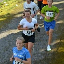 XII Jüri Jaansoni Kahe Silla jooks - Katrin Vinkel (282), Brandon Loorits (309), Triin Taveter (324)