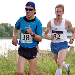 XII Jüri Jaansoni Kahe Silla jooks - Jaan Jänes (32), Andi Linn (38)