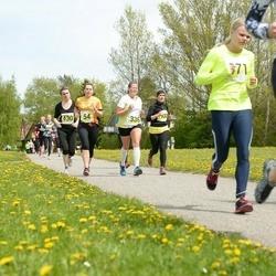 SEB 28. Maijooks - Triin Pärna (54), Katre Vallner (336), Merilin Valter (371), Ada Ruttik (430), Marina Tsubova (3470)