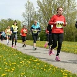 SEB 28. Maijooks - Piret Reinik (170), Katrin Väärtnõu (1097), Laura Lindpere (1440), Ingrid Treu (2110), Karin Vee (2557)