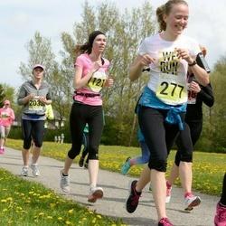SEB 28. Maijooks - Greeta Roosileht (277), Mari-Liis Tamm (449), Ave Nilson (1121), Annika Kraaner (2032)