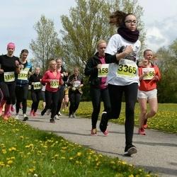 SEB 28. Maijooks - Marilyn Paukku (474), Anu Jõulu (691), Kaie Visnapuu (1116), Janne-Riin Sahkur (2372), Anna-Liina Amer (3365)