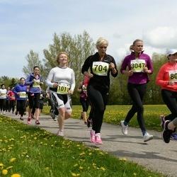 SEB 28. Maijooks - Maarika Männik (704), Lemme Truu (807), Tanja Borisova (1011), Helis Selge (1760), Birgit Valge (3047)