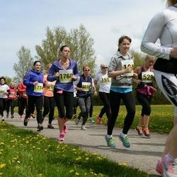 SEB 28. Maijooks - Inga Leetmaa (151), Maarika Männik (704), Lemme Truu (807), Tanja Borisova (1011), Helis Selge (1760), Birgit Valge (3047)