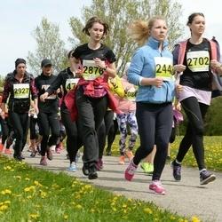 SEB 28. Maijooks - Terje Auväärt (2248), Jelena Ainson (2702), Anastasia Jefimova (2876), Carinee Paet (2927)