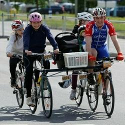 34. Tartu Rattaralli - Marianne Haamer (6890), Raimond Haamer (6893), Karoline Haamer (6894)