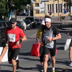 SEB Tallinna Maraton - Ari Wolff (274), Aivo Jõemets (1545)