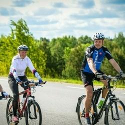 34. Tartu Rattaralli - Arbo Kalk (6653), Dagmar Helena Kalk (6654), Anneli Jordan (7020)