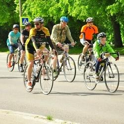 34. Tartu Rattaralli - Alo Tilga (6197), Marko Pruus (6688), Mathias Pruus (7008), Anneli Jordan (7020)