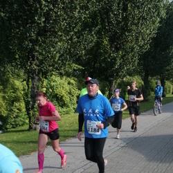 SEB Tallinna Maraton - Leili Teeväli (1084), Aadi Remmik (1184)