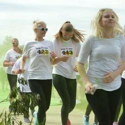 Wow run - Karolin Valge (422), Christell Langell (443), Kadri Villemson (642)