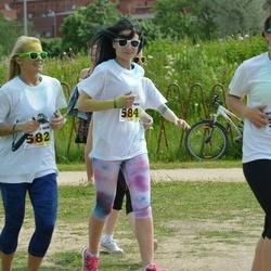 Wow run - Liisi Kurusk (582), Monica Sasi (583), Mari-Liis Sander (585)