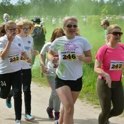 Wow run - Sirli Mark (233), Melissa Keerd (242), Marleen Raudsepp (246), Ketter Kõre (247)
