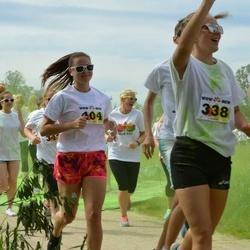 Wow run - Elina Meier (338), Aire Vuchmann (404)