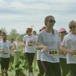 Wow run - Anne Altsaar (138), Nele Paglant (228)