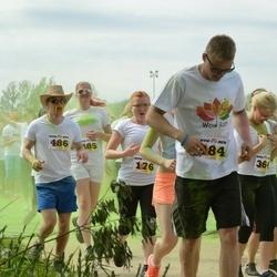 Wow run - Rauno Karro (484), Meelika Riiberg (485), Harli Koppelmann (486)