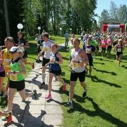Otepää Jooksutuur - Helle Hallik (92), Andres Hellerma (96)