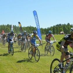 17. Rõuge Rattamaraton - Janno Järvsoo (70), Valdek Rohtma (78), Guntis Kozilans (100)