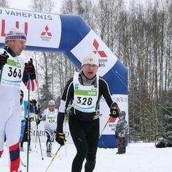38. Tartu Maraton - Andre Nõmm (328), Tarmo Tiivoja (364), Tiit Kollo (636)