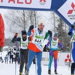 38. Tartu Maraton - Ivo Karilaid (528), Eero Saari (547), Tommy Lindberg (644)