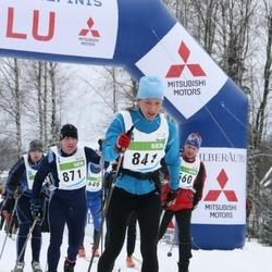 38. Tartu Maraton - Heddy Riismaa (841), Arne Pihkva (871)