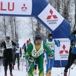 38. Tartu Maraton - Ago Saluveer (1183), Raivo Möll (1345), Reimo Rannu (1691)