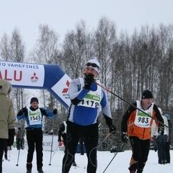 38. Tartu Maraton - Georg Ruuda (983), Raul Kadajane (1178), Andre Mägi (1543)