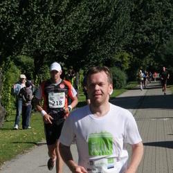 SEB Tallinna Maraton - Andris Leja (218), Meelis Koskaru (370)