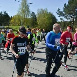 33. Tartu Jooksumaraton - Maili Kahu (2503), Arne Merilai (2539), Kristi Sell (2719)