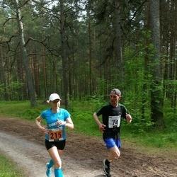 Pärnumaa Võidupüha maraton - Aleksandr Zurbi (74), Annika Vaher (215)