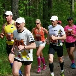 Pärnumaa Võidupüha maraton - Meelis Kokk (311), Silja Palm (389)