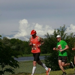 Pärnumaa Võidupüha maraton - Leho Rennit (405), Aigar Sõnistar (451)