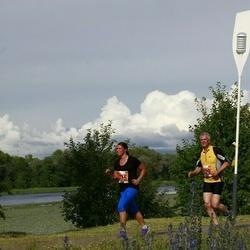 Pärnumaa Võidupüha maraton - Kalle Liebert (329), Liina Abram-Novitski (375)
