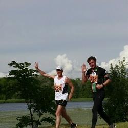 Pärnumaa Võidupüha maraton - Kaarel Kaisel (250), Tarmo Visnapuu (424)