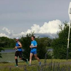 Pärnumaa Võidupüha maraton - Meelis Koskaru (23), Heiki Pruul (24)