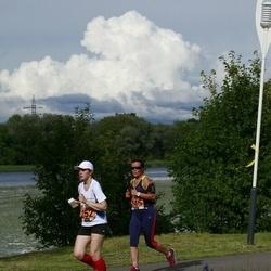 Pärnumaa Võidupüha maraton - Janely Kuuskler-Adler (246), Merlin Alabert (252)