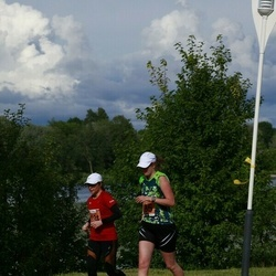Pärnumaa Võidupüha maraton - Elle Keeman (234), Tiit Kivisild (235)