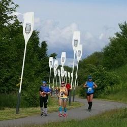 Pärnumaa Võidupüha maraton - Lennart Pulk (45), Marika Roopärg (49)