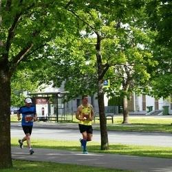 Pärnumaa Võidupüha maraton - Kuido Rooba (312), Marno Maasikas (385)