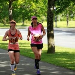 Pärnumaa Võidupüha maraton - Maarja Pütsep (218), Kadri Leesment (283)