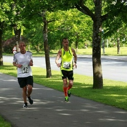 Pärnumaa Võidupüha maraton - Ando Viispert (42), Ain Kurvits (164)