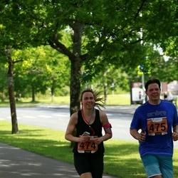 Pärnumaa Võidupüha maraton - Margit Karelson (474), Karel Karelson (475)