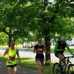 Pärnumaa Võidupüha maraton - Pille Pipar (239), Üllar Kaljumäe (358)