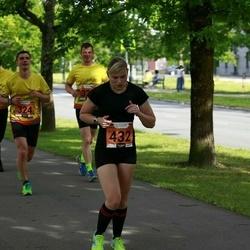 Pärnumaa Võidupüha maraton - Krister Tamm (324), Liisbet Puust (432)