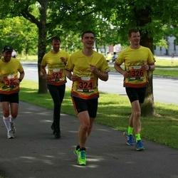 Pärnumaa Võidupüha maraton - Madis Kuuskmann (323), Krister Tamm (324), Andres Lilleste (326)