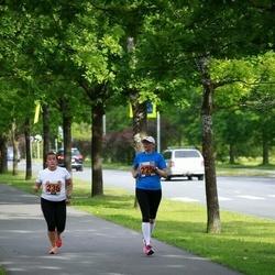 Pärnumaa Võidupüha maraton - Virve Neerot (225), Linda Meiesaar (236)