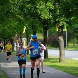 Pärnumaa Võidupüha maraton - Lennart Pulk (45), Karin Laurik (345)