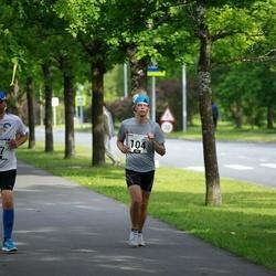 Pärnumaa Võidupüha maraton - Ahti Nuga (47), Hannes Kiivet (104)
