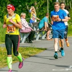 Pärnumaa Võidupüha maraton - Signe Uibo (341), Silver Ilisson (391)